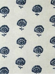 Hand+Flora+Indigo by Robert Allen, 100,000 rubs for upholstery