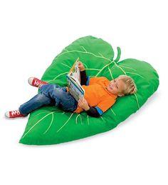 Leaf Cushion HearthSong® http://www.amazon.com/dp/B00B27T0O2/ref=cm_sw_r_pi_dp_ciE1tb07YY5SBE6P