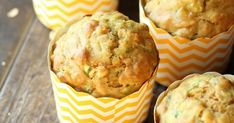 Muffins de Avena ! Gloriosos! Cupcakes, Breakfast, Food, Desserts, Biscuits, Food Recipes, Fairy Cakes, Healthy Food, Cupcake