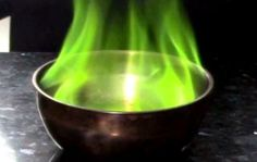 Make your own green fire!
