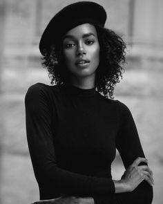 Paige Gary Fashion Portriat - Glenford Nuñez Photography    Beret hat. Beret.
