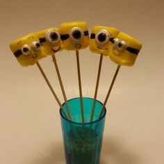 Marshmallow Minion pop