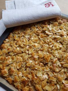 Apfelkuchen mit Florentiner Hut - mama-kocht heute