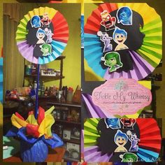 inside out party centerpieces - Google Search
