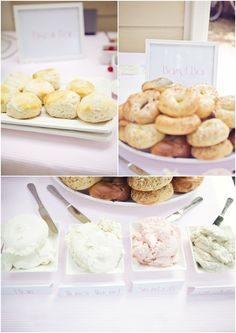 Breakfast at tiffanys party ideas mimosa bar 68 Trendy Ideas Healthy Breakfast Muffins, Breakfast Bars, Best Breakfast, Breakfast At Tiffanys Party Ideas, Brunch Ideas, Bagel Bar, Backyard Bridal Showers, Brunch Wedding, Wedding Parties