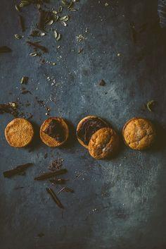 Hachiya Persimmon Cookie Dark Chocolate Olive Oil Ganache   bettysliu.com