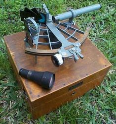 Sextant, as in CARRY ON, MR. BOWDITCH by Jean Lee Latham. Free setting activity template and all kinds of fun teaching ideas/materials at https://litwits.com/carry-on-mr-bowditch/  #litwitskits