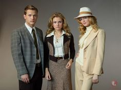 Lifetime's (2014) Petals On the Wind TV movie premiering Memorial Day weekend (May 26, 2014) at 9/8c.  Based on the novel by V.C. Andrews.  Photo (from left to right - Wyatt Nash (Christopher Dollanganger), Rose McIver (Cathy Dollanganger) and Heather Graham (Corrine Dollanganger)