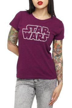 Amazon.com: Star Wars Her Universe Burnout Girls T-Shirt: Clothing