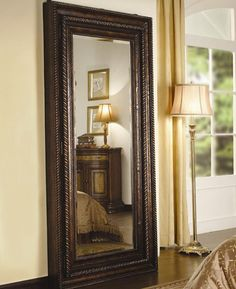 Amazoncom Hooker Furniture Preston Ridge Floor Mirror with