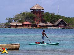 Islas del Rosario frente al Oceanario