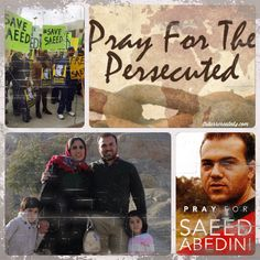American Pastor Saeed Abedini continues to suffer for his Christian faith, imprisoned (2012) and tormented in Iran. He is presently serving an 8 year sentence in one of Iran's toughest prisons simply for sharing his Christian faith. We have an opportunity to demand his freedom. We can't leave him behind. Let US, urge President Obama to bring Pastor Saeed home. Agape
