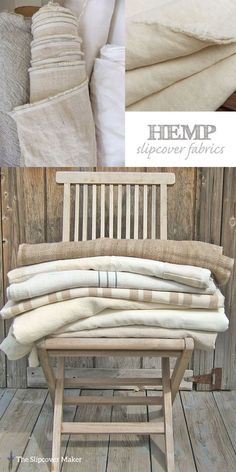 Might want to try some hemp. ********** If you love linen you will love the look & feel of hemp for slipcovers. Durable, washable and long wearing. Here are some of my favorite natural hemp fabrics: Hemp Canvas . Poltrona Vintage, Custom Slipcovers, Hemp Fabric, Linen Fabric, Rustic Fabric, Farmhouse Fabric, Textiles, Linens And Lace, Soft Furnishings