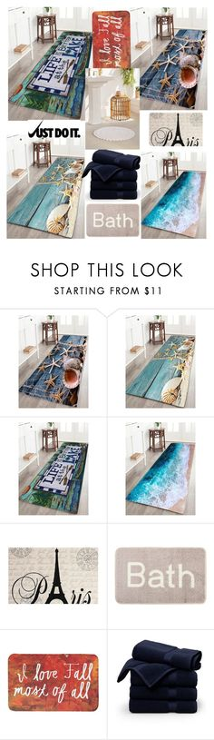 """Bath Rugs"" by jasmina-ishak ❤ liked on Polyvore featuring interior, interiors, interior design, home, home decor, interior decorating, Brooks Brothers, Urban Outfitters and NIKE"