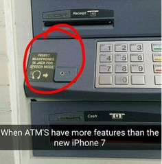 Funny Memes  iPhone 7 Features http://ift.tt/2k4ycII