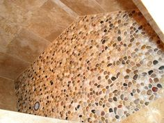 Comfy River Rock Shower Floor Cleaning - MyHomeImprovement