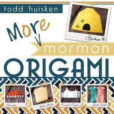Add some fun to your church handout, plan a fun Mutual activity, or try something new at FHE with these fun, Mormon-inspired origami projects!