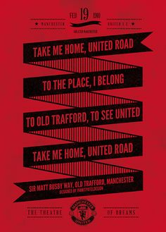 I belong To Old Trafford ♥