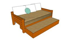 How to build a storage bed frame – HowToSpecialist – How to Build, Step by Step DIY Plans