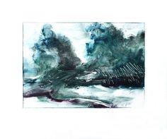 Original art for sale at gallree.com - Affordable Art Under $150.00 - Tidal Pond by Leon  Kortenkamp - $100.00 | Giclee/Print
