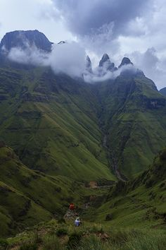 The Drakensberg. This mountain range holds my heart.  Mweni pass, Northern Drakensberg.   by Carl Smorenburg.