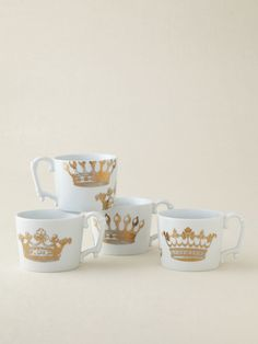 Rosanna Inc.  Kings Road Redux Mugs (Set of 4)  $34