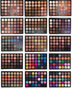 Ideen Make-up Lidschatten Morphe für 2019 - Nails & MakeUp! - Make-up Make Up Kits, Skin Makeup, Makeup Eyeshadow, Beauty Makeup, Face Beauty, Matte Eyeshadow, Blue Makeup, Makeup Case, Sephora Makeup