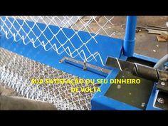 maquina de telas - YouTube Engineering Works, Welding Shop, Automatic Gate, Metal Working Tools, Metal Fabrication, Super Bikes, Metal Furniture, Fence, It Works