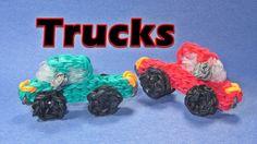 Rainbow Loom Charms:TRUCK: How To Tutorial (DIY Mommy)