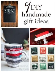 There will always be something special about a handmade gift. It really shows that you took a little extra thought and care for the person you are giving it to. If you have a couple of hours on your hands and love to make homemade gifts, read on as eBay shares nine great gift ideas that will be sure to touch someone's heart today!