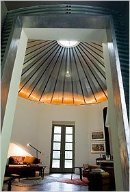 silo roof house - Google Search