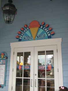YUMMY!!  Beaches and Cream at Disney's Beach Club resort