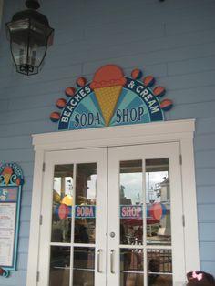 YUMMY!!  Beaches and Cream at Disney's Beach Club resort