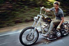 これは反則すぎる!ブラッド・ピットのチョッパーがクールすぎて眠れない。 - LAWRENCE(ロレンス) - Motorcycle x Cars + α = Your Life.
