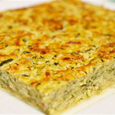 Try this Zucchini Slice recipe by Chef Luke Mangan. This recipe is from the show Chefs Christmas 2009.