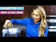 How To Make A Healthier Alcoholic Drink - Danette May Yummy Drinks, Healthy Drinks, Get Healthy, Bar Drinks, Healthy Tips, Healthy Eating, Healthy Recipes, Dannette May Recipes, Clean Recipes