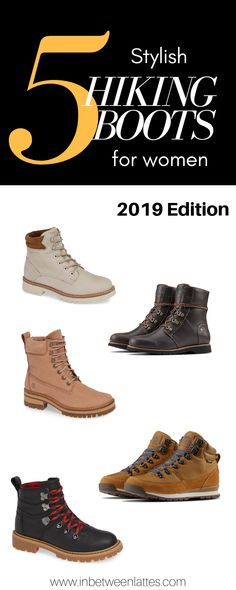 98ea30bdde4 5 Stylish and Practical Hiking Boots for Women 2019