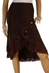 Karen Millen Brown Silk 1920 039