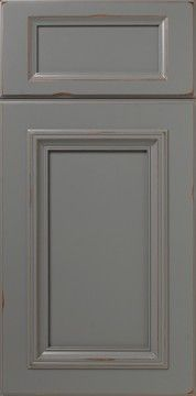 Extend drawer style to the door Distressed Cabinets, Grey Cabinets, Custom Cabinets, Cabinet Door Styles, Kitchen Cabinet Doors, Cabinet Stain Colors, Veneer Plywood, Staining Cabinets, Contemporary Doors
