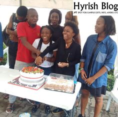 Hi! It's Hyrish Blog: Photos from Kevwe's 15-guest birthday get-together...