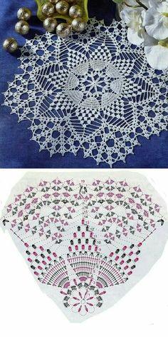 Free Crochet Doily Patterns, Crochet Mat, Crochet Bunny Pattern, Crochet Dollies, Crochet Lace Edging, Crochet Skirt Pattern, Thread Crochet, Crochet Crafts, Crochet Stitches