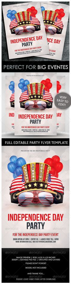 Independence Day Kitten Independence day and Kittens - independence day flyer