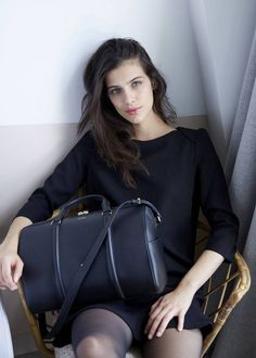 Polène   sac N°3 - Monochrome Noir