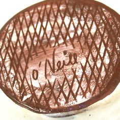 Irish Studio Pottery Trinket Pin Dish Bowl Dingle O'Neill Hand Made