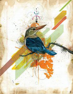 One of my top favorite artists - I Dream of Balance by Blaine Fontana Art Haus, Layout, Sculpture, Bird Art, Collage Art, Amazing Art, Awesome, Cool Art, Fun Art