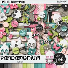 Pandamonium {Full Kit}