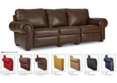 Elite 7000 Series Motion Leather Sofa & Set