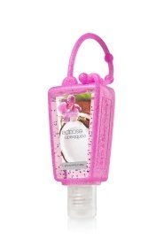 Bath and Body Works Pocketbac Holder Pink Glitter « Holiday Adds