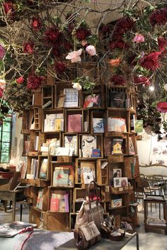 book display, NonostanteMarras, Milan.