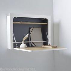 NUOVO CON SCATOLA, La Redoute, Sam Baron Designer muro minimalista MONTATO Desk / workstation